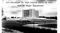 H D Woodson class of 75 40th Reunion photo book